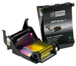 Zebra ZXP Series 1 Load-N-Go Black  Monochrome Ribbon, 1000 Prints